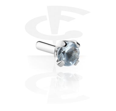 Bolas y Accesorios, Jeweled Attachment de Bioflex Internal Labrets, Acero quirúrgico 316L