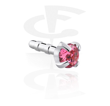 Jeweled Attachment for Bioflex Internal Labrets