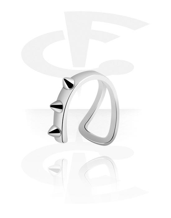 Imitacja biżuterii do piercingu, Lip Cuff, Surgical Steel 316L