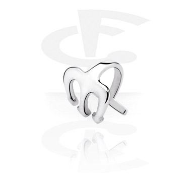 Fake Piercings, Lip Cuff, Surgical Steel 316L
