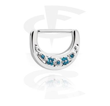 Nipple clicker avec crystal stones