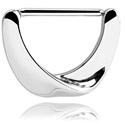 Nipple Piercings, Nipple Clicker, Surgical Steel 316L