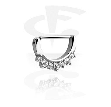 Nipple Clicker z crystal stones