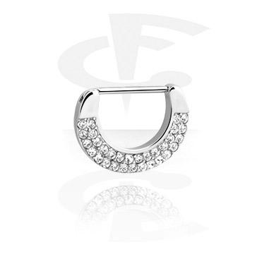 Nipple Clicker kanssa crystal stones