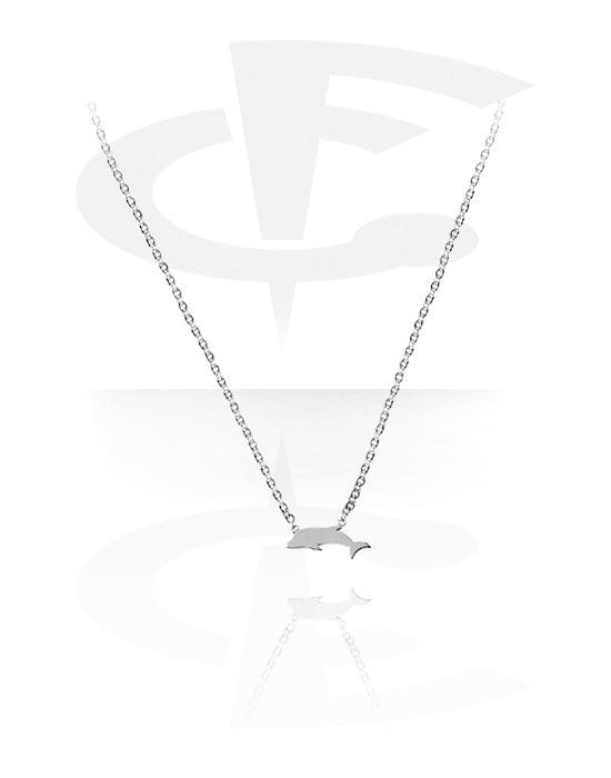 Kaulakorut, Kaulakoru kanssa Dolphin Design, Kirurginteräs 316L