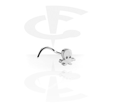 Kolczyki do nosa, Curved Nose Stud, Surgical Steel 316L