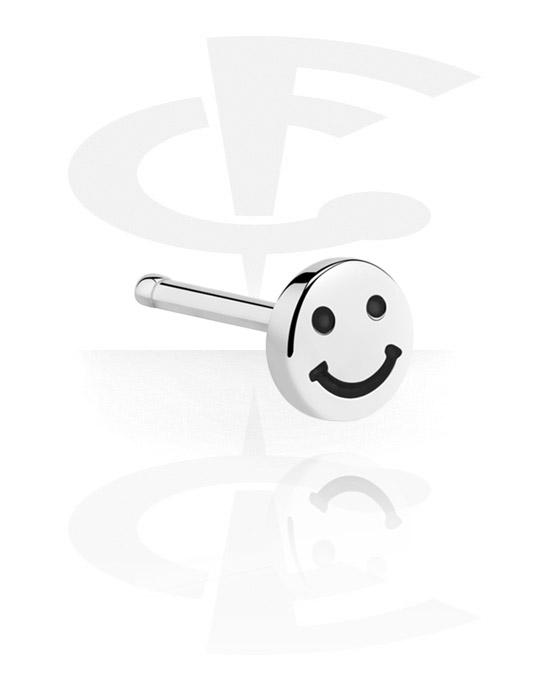 Piercing al naso & Septums, Straight Nose Stud, Acciaio chirurgico 316L