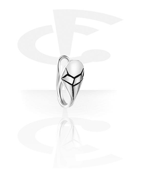 Falešné piercingové šperky, Nose Cuff, Chirurgická ocel 316L