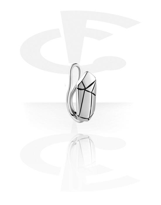 Piercing fake, Nose cuff, Acciaio chirurgico 316L