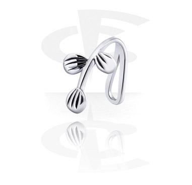 Fake Piercings, Nose Cuff, Surgical Steel 316L