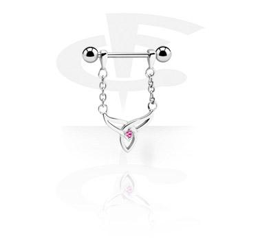 Nipple Piercings, Nipple Barbell, Surgical Steel 316L