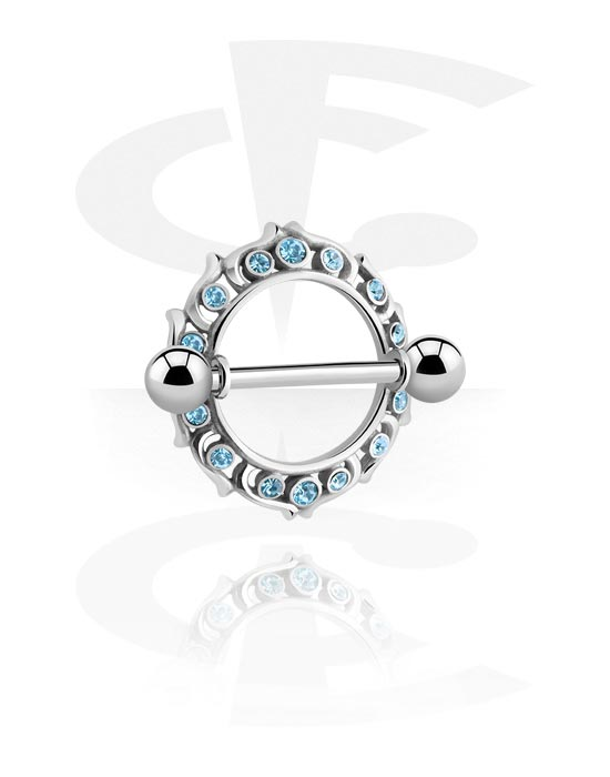Piercingové šperky do bradavky, Nipple Shield, Surgical Steel 316L