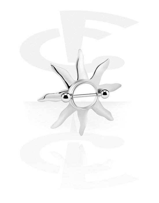 Piercingové šperky do bradavky, Nipple Shield, Chirurgická ocel 316L