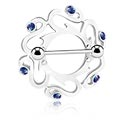 Piercingové šperky do bradavky, Štít pro bradavky, Surgical Steel 316L