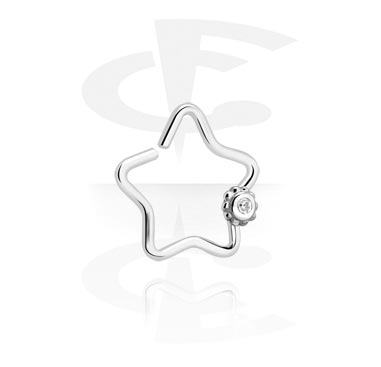 Star-shaped Continuous Ring