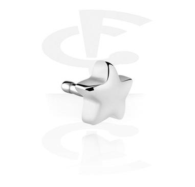 Palline e Accessori, Attachment per Bioflex Internal Labrets, Chirurgico acciaio 316L