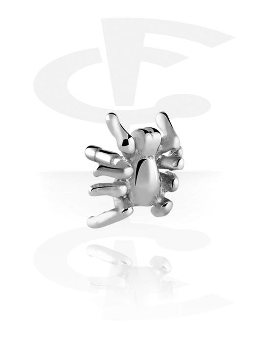 Kuličky, kolíčky a další, Attachment for Bioflex Internal Labrets, Surgical Steel 316L