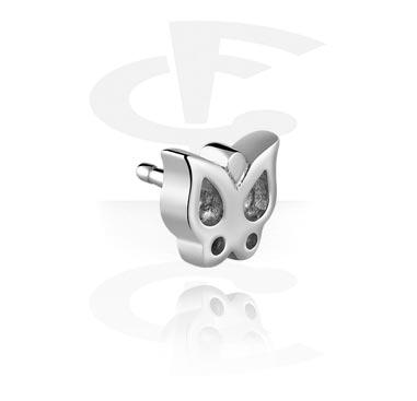 Pallot ja koristeet, Attachment for Bioflex Internal Labrets, Surgical Steel 316L