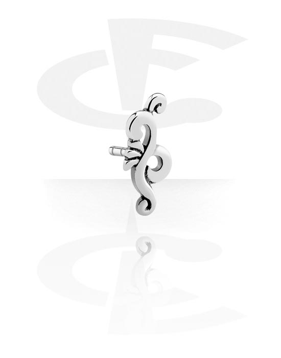 Kuličky, kolíčky a další, Attachment for Bioflex Internal Labrets, Chirurgická ocel 316L