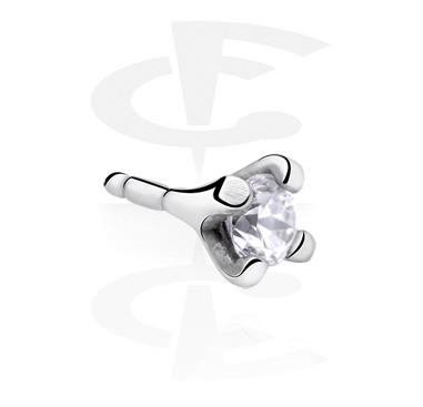 Balls & Replacement Ends, Attachment for Bioflex Internal Labrets, Surgical Steel 316L