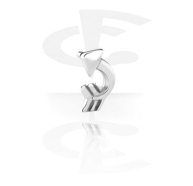 Bolas y Accesorios, Accesorio para internal labrets de bioflex, Acero quirúrgico 316L