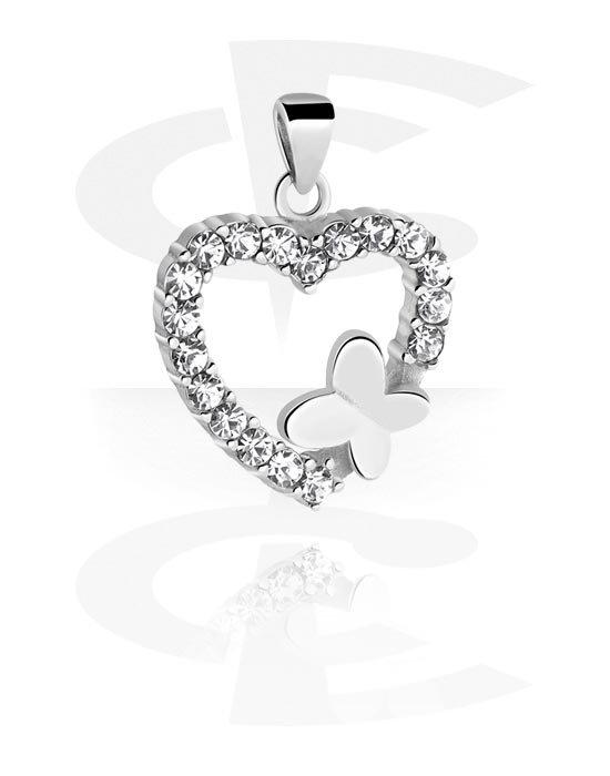 Riipukset, Pendant kanssa Heart Design, Kirurginteräs 316L