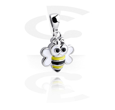 Pendants, Pendant with sweet bee, Surgical Steel 316L