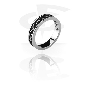 Ringar, Steel Cast Ring, Surgical Steel 316L