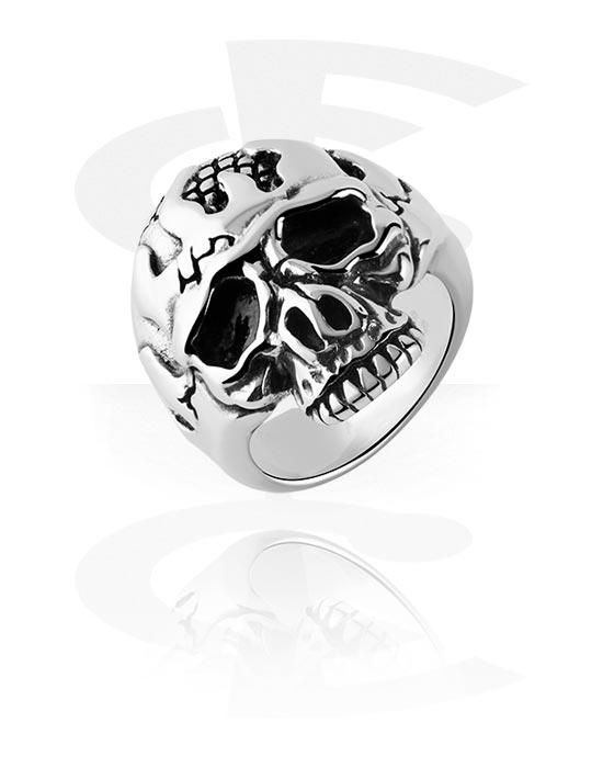Sormukset, Ring kanssa Skull Design, Kirurginteräs 316L