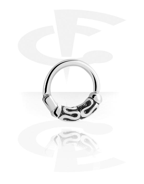 Renkaat, Hinged Segment Ring, Kirurginteräs 316L