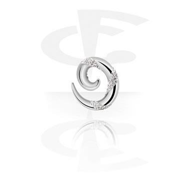 Crystaline spiraal in chirurgisch gietstaal