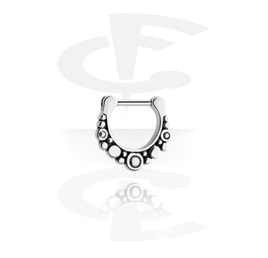 Nose Jewelry & Septums, Septum Clicker, Surgical Steel 316L
