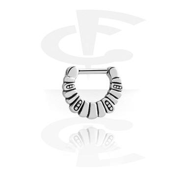 Piercings Nariz, Septum clicker, Acero quirúrgico 316L