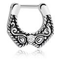 Nose Jewellery & Septums, Septum Clicker, Surgical Steel 316L