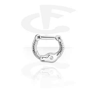 Kolczyki do nosa, Septum Clicker, Surgical Steel 316L