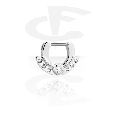 Nose Jewelry & Septums, Hinged Septum Clicker, Surgical Steel 316L