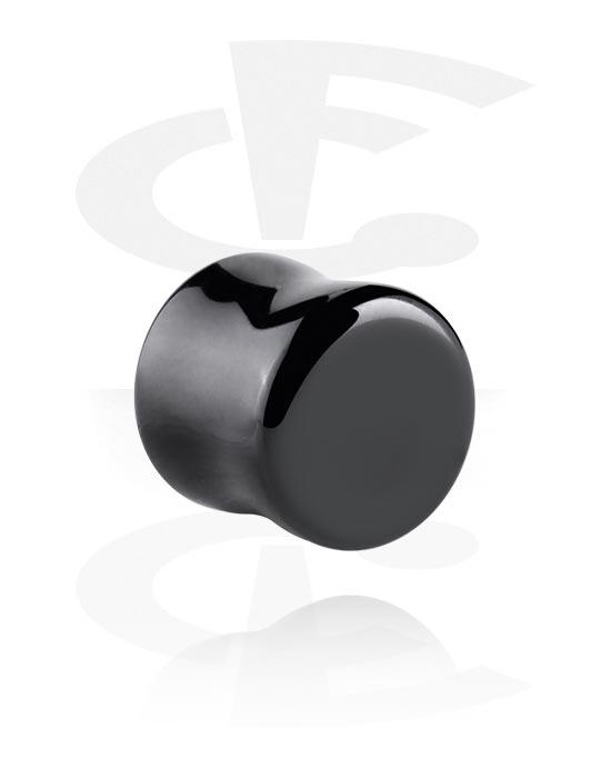 Tunele & plugi, Double Flared Plug, Kamień półszlachetny