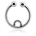 Imitacja biżuterii do piercingu, Fake septum, Surgical Steel 316L
