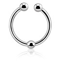 Feikkikorut, Fake septum, Surgical Steel 316L