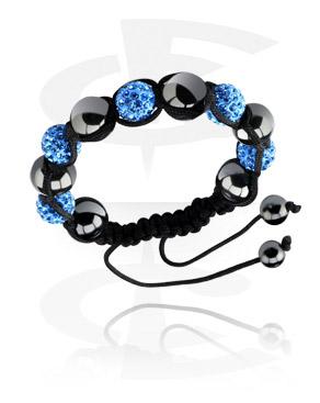 Armband met Kristalballetjes