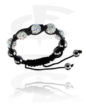 Crystal-Balls Bracelet