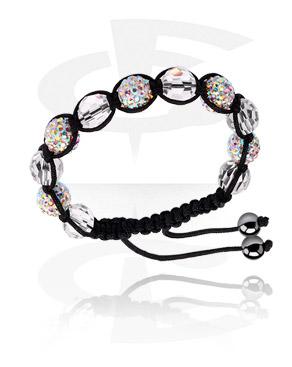 Armband met kristalballen