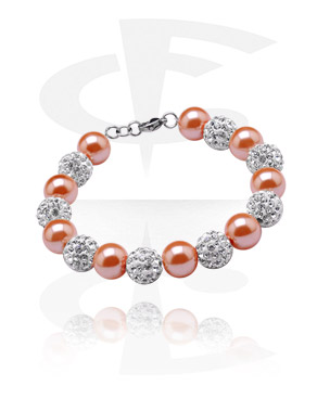 Náramky, Crystal-Balls Bracelet, Cotton