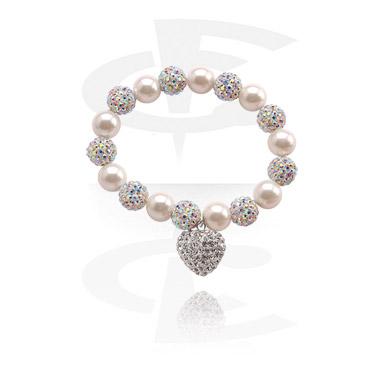 Armband mit Kristallkugeln