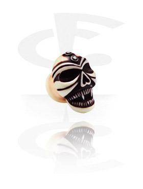 Painted Skull Plug
