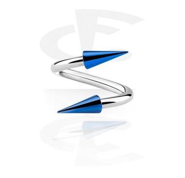 Spirali, Spirale con coni lunghi, Acciaio chirurgico 316L