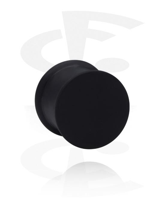 Tunele & plugi, Ribbed Plug, Silikon