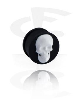 Plug com Skull Design