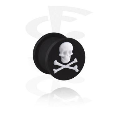 Plug med Skull