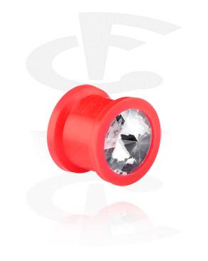Jeweled Silicone Plug